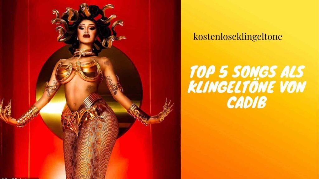 Die 5 besten Klingelton-Songs von Cardi B