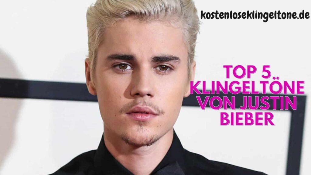 Top 5 Klingeltöne von Justin Bieber. Laden Sie einzigartige Klingeltöne herunter.
