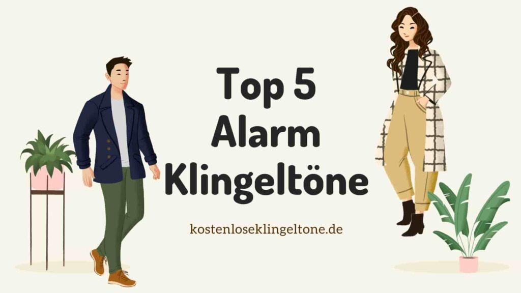 Top 5 lustige neue Tag Alarm Klingeltöne für Sie